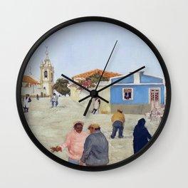 Igreja de Ferragudo Wall Clock