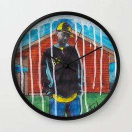 DEAD RAPPERS SERIES - J. Dilla Wall Clock