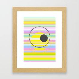 let's see Framed Art Print