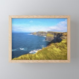 The Cliffs of Moher Framed Mini Art Print