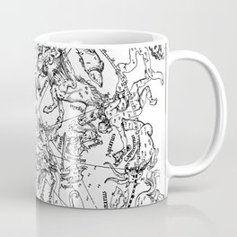 The Northern Celestial Hemisphere 1515 Coffee Mug