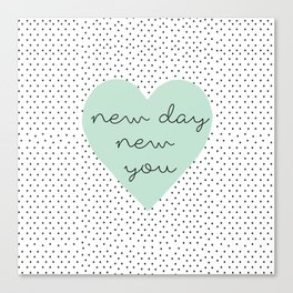 new you Canvas Print