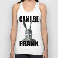 frank Tank Tops featuring Frank by Iamzombieteeth Clothing