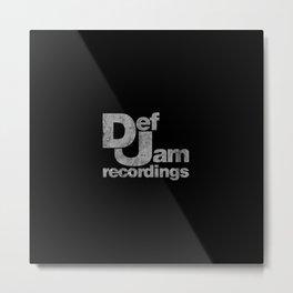 Jam Recordings Square Metal Print
