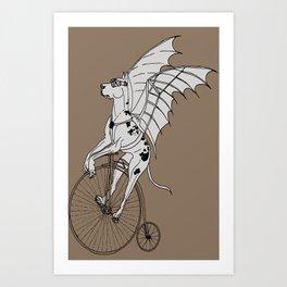 Steam Punk Great Dane Art Print