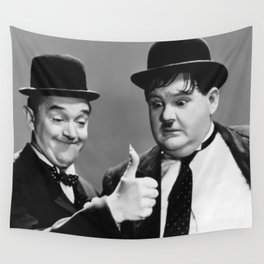 Stan & Ollie Wall Tapestry