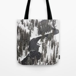 Yellowstone National Park - Lewis River Tote Bag