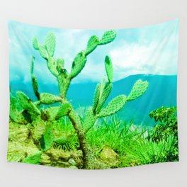 Hostility and coldness. Wall Tapestry
