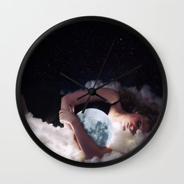 """""""Moonlight drowns out all but the brightest stars."""" Wall Clock"""