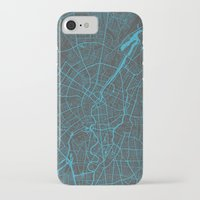 berlin iPhone & iPod Cases featuring Berlin by Map Map Maps
