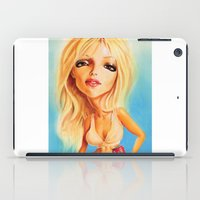 britney iPad Cases featuring Britney Spears by Patrick Dea