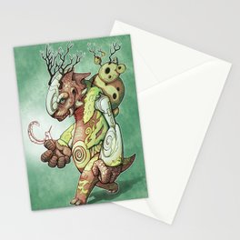 Forest Beast Stationery Cards