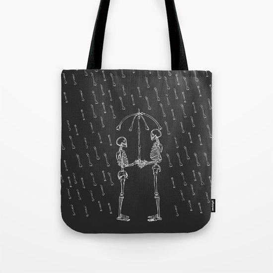 Raining Bone Tote Bag