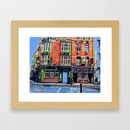Grafton Street Right Over the Bar Framed Art Print
