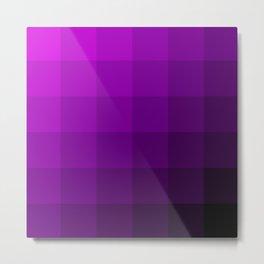 Purple,, Purple pattern & More Metal Print