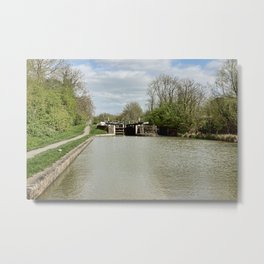 Stockton Locks  Metal Print