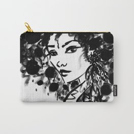 Black & White Ego Carry-All Pouch