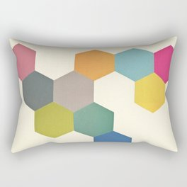 Honeycomb I Rectangular Pillow