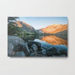 Sunrise in the Eastern Sierras Metal Print