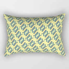 Tetris Hangers Rectangular Pillow