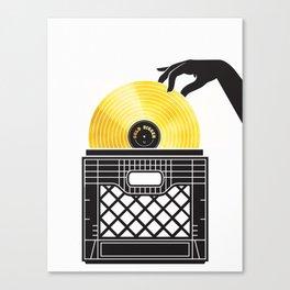 Gold Digger Canvas Print
