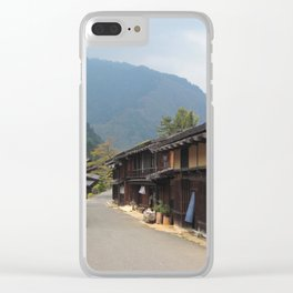 Old Japanese Village Clear iPhone Case