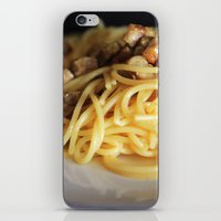 pasta iPhone & iPod Skins featuring Pasta by alemazza
