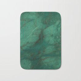 Hunter Green Marble Bath Mat