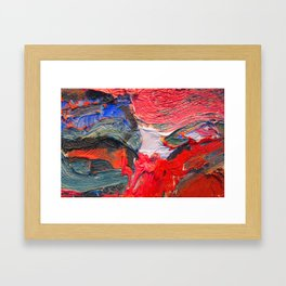 Up Close & Personal with Portrait of a Shoe #2 by Joan Brown Framed Art Print