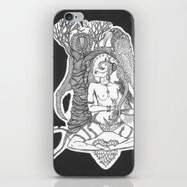 Apsara Under Tree with Birds iPhone Skin