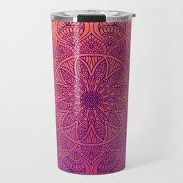 Happy Mandala Travel Mug