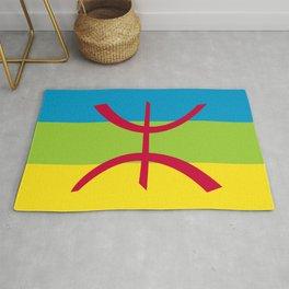 Berber people ethnic flag egypt Rug