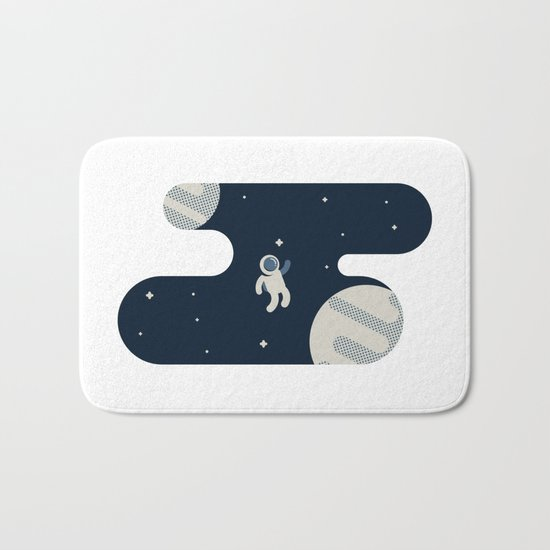 The Astronaut Bath Mat