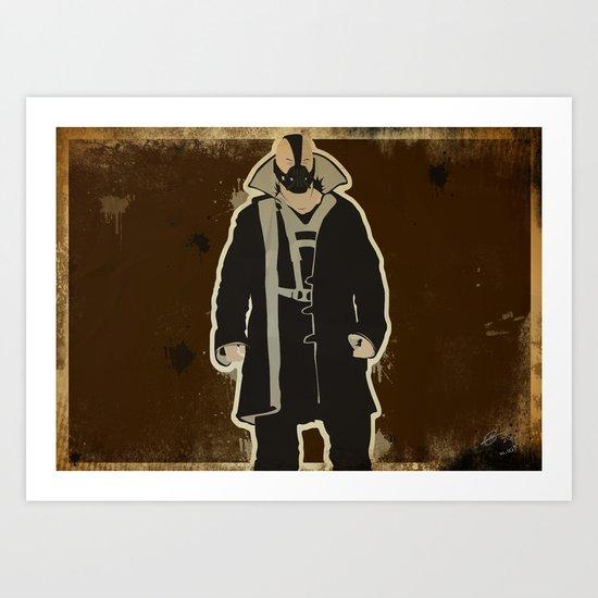 The Dark Knight: Bane Art Print