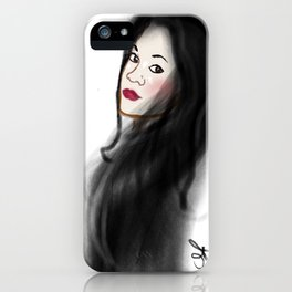 The Ghost of Christmas Yet to Come - Charles Dickens A Christmas Carol - Selfie iPhone Case