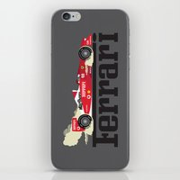 ferrari iPhone & iPod Skins featuring Ferrari F1 by Lewys Williams
