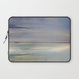 """Peace at the seasunset"". Magic reflections Laptop Sleeve"