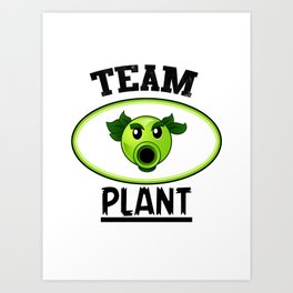Team Plant Art Print