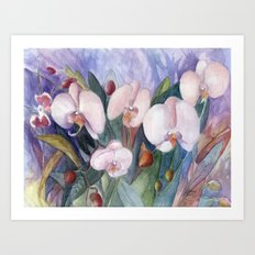 Orchid Fantasy Art Print