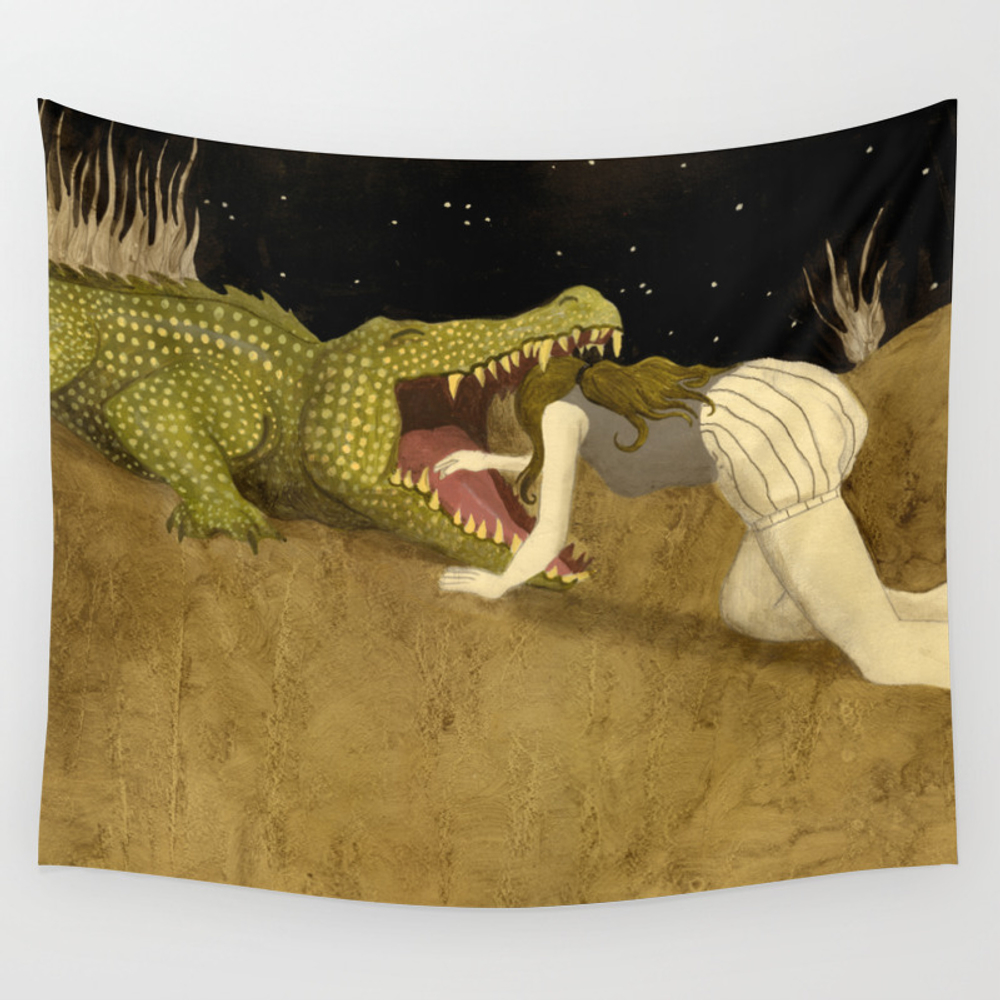 In The Mouth Of Madness Wall Tapestry by Jmascarenhas TPS1435761