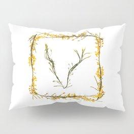 "Seaweed Alphabet ""V"" Pillow Sham"