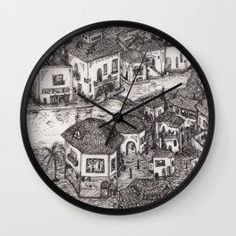 pueblito Wall Clock