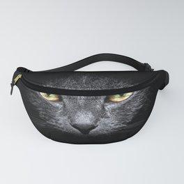 Grace of a black cat Fanny Pack