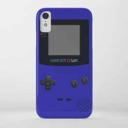 GAMEBOY Color - Dark Blue Version iPhone Case