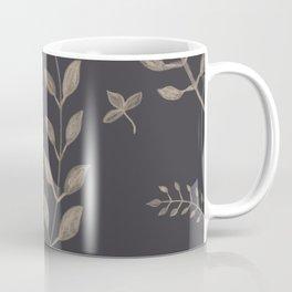 Light Sepia Leaves Pattern #1 #drawing #decor #art #society6 Coffee Mug