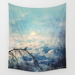 HEAVENLY BIRDS III-A Wall Tapestry