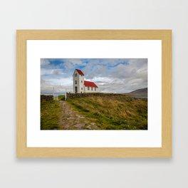 Chapel of Iceland Framed Art Print