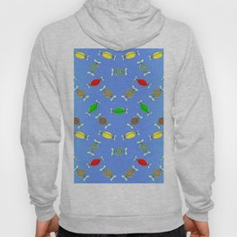 Candy, Festive Block Party Clear Skies, Christmas and Holiday Fantasy Collection   Coordinate Hoody