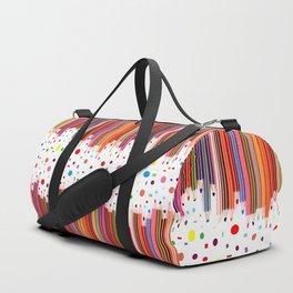 Colorful Pencils - Drawing Tools #society6 #decor #buyart Duffle Bag