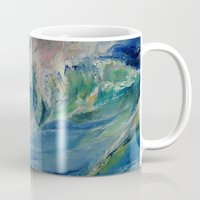 rogue Mugs featuring Rogue Wave by Michael Creese